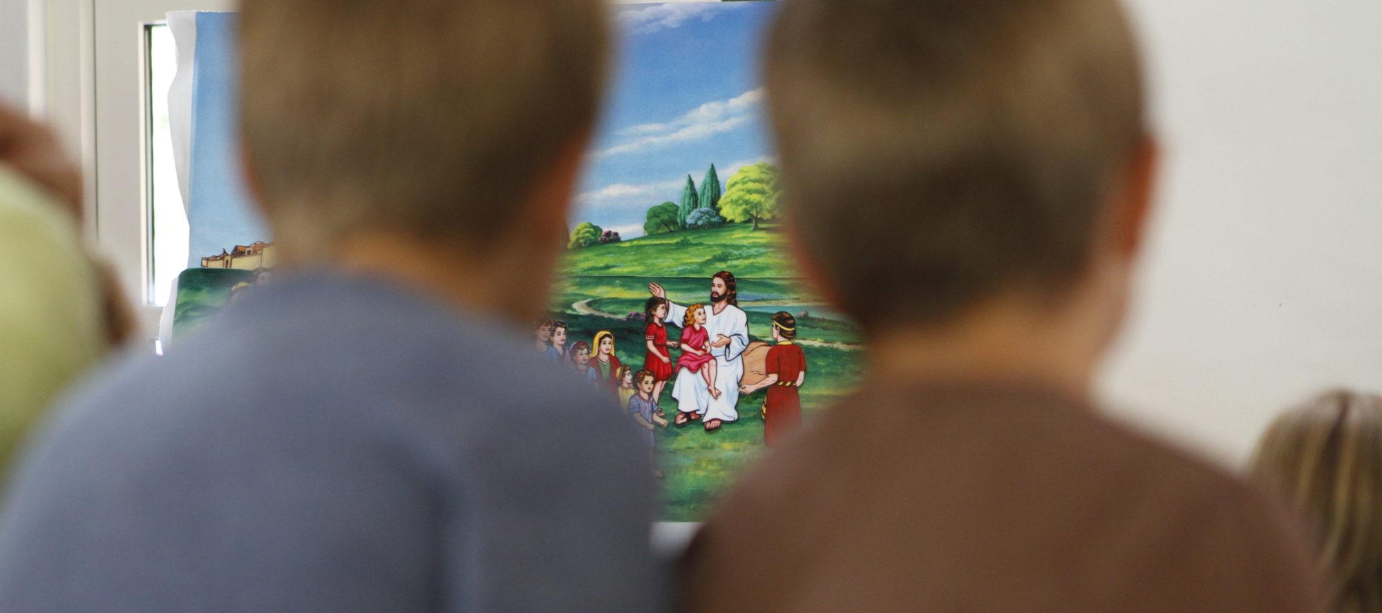 Børnelejr på Lærkereden